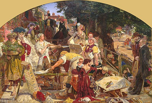 Ford Madox Brown - Work - Google Art Project