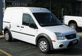 Ford Transit Connect - Post-facelift model