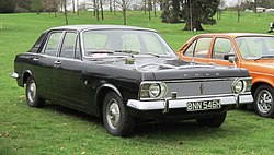 Ford Zephyr VI Mk IV first registered May 1970 2495cc.JPG