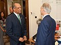 Foreign Office Minister, Henry Bellingham With Ewart Brown Prime Minister Of Bermuda (4730033754).jpg