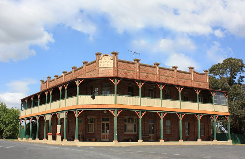 Galong Australia  city photos gallery : Former Royal Hotel, Galong, NSW. Wikimedia Commons