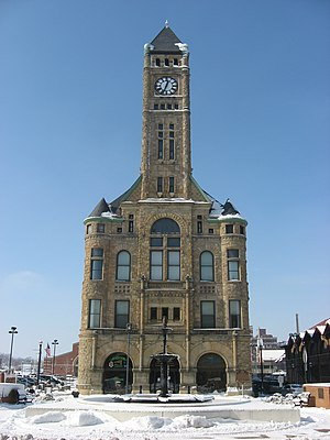 Clark County Heritage Center - The former Municipal Building (Springfield, Ohio)