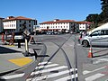 Former railroad tracks in Fort Mason, June 2017.JPG
