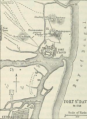 Fort St. David - Fort St David in 1758