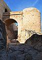 Fossat i pont, castell de santa Bàrbara, Alacant.JPG