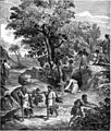 Foster Bible Pictures 0076-1 Carrying a Bunch of Grapes from Canaan.jpg