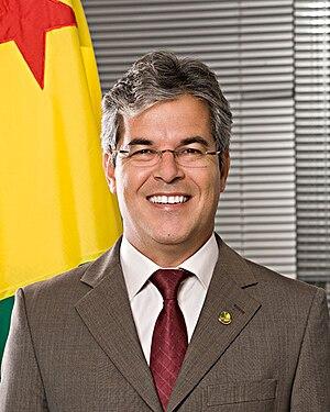Jorge Viana - Image: Foto oficial do senador Jorge Viana