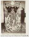 Fotografi av Sevilla. Manto, Virgen de la Esperanza. P. San Gil - Hallwylska museet - 104806.tif