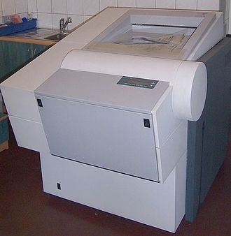 Computer to film - ScanView photosetter DotMate5000