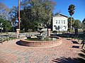Fountain in Celebration Park, Glen St. Mary.JPG