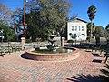 Fountain in Celebration Park, Glen St. Mary.JPG