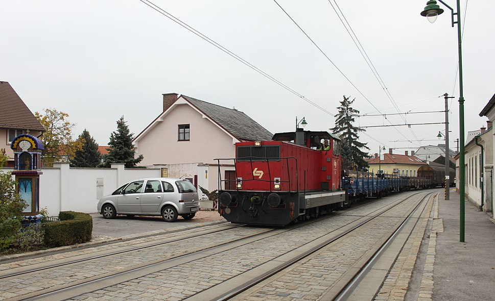 Frajta trajno en Guntramsdorf