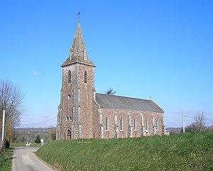 L'église de Guéhébert
