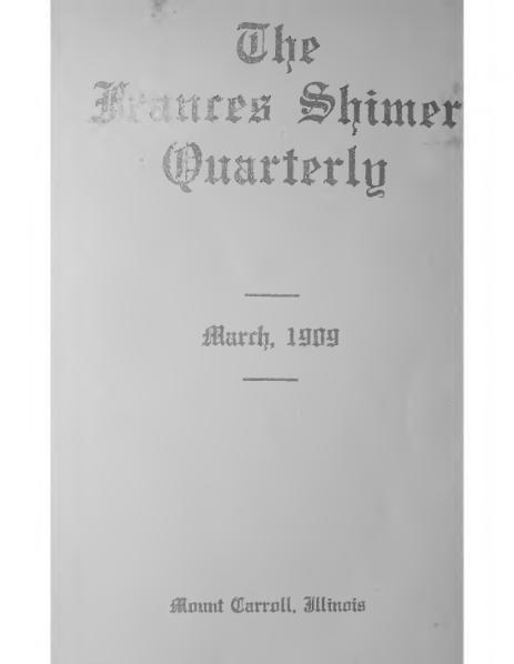File:Frances Shimer Quarterly 1-1.djvu