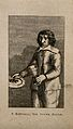 Francesco Battaglia, a stone eating boy. Engraving. Wellcome V0006978.jpg