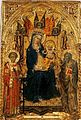 Francesco di Vannuccio. Madonna and Child with SS. Lawrence and Andrew. no.806. ca. 1387-88, Museum Meermanno, The Hague..jpg