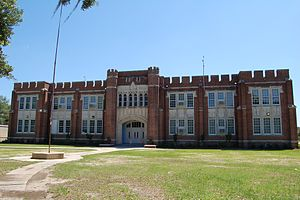 Franklinton High School (Louisiana) - Old High School building, currently Franklinton Junior High