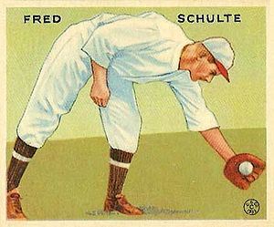 Fred Schulte - Schulte with the Washington Senators in 1933