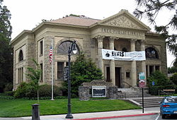 Free Public Library of Petaluma, 20 Fourth St., Petaluma, CA 5-31-2010 6-56-02 PM.JPG