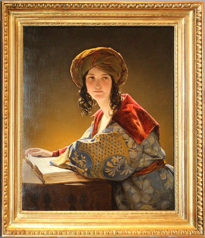Friederich amerling, la giovane donna orientale, 1838.jpg