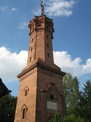 Rochlitz - Observation tower on Rochlitzer Berg