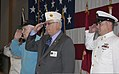 From left, Ernie Arnold, a retired U.S. Sailor and a World War II veteran; Loren Sperry, a Vietnam War Veteran and the commander of the Washington branch of the American Legion; and Chief Culinary Specialist 130607-N-MM360-040.jpg