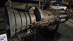 Fuji type JO-1 turbojet engine left front view at Modern Transportation Museum March 23, 2014.jpg