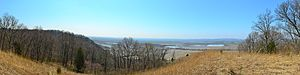 Fults Hill Prairie State Natural Area - Image: Fults Hill Prairie Nature Preserve 18apr 14 053 pano