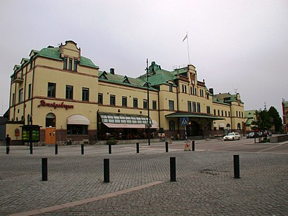 How to get to Gävle Centralstation with public transit - About the place