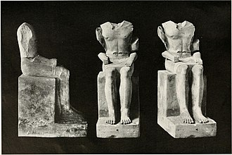 Hemiunu - The statue before it's restoration