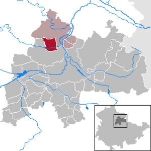 Günstedt - Image: Günstedt in SÖM