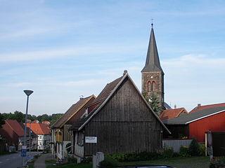 Güntersberge Locality of Harzgerode in Saxony-Anhalt, Germany