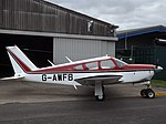 G-AWFB Piper Cherokee Arrow (30933537525).jpg