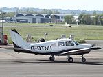 G-BTNH Piper Cherokee Warrior (26291772953).jpg