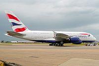 G-XLEL - A388 - British Airways