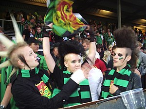 GAIS - Modern day GAIS supporters.
