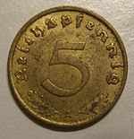 GERMAN REICH 1937 -5 REICHSPFENNIG a - Flickr - woody1778a.jpg