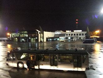 Strigino International Airport - Apron bus at Nizhy Novgorod - Strigino.