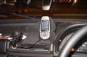 GNSS applications - A GPS receiver in civilian automobile use.