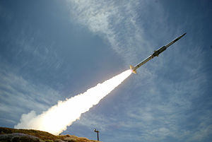 GQM-163 Coyote - Image: GQM 163 Coyote test launch May 2004