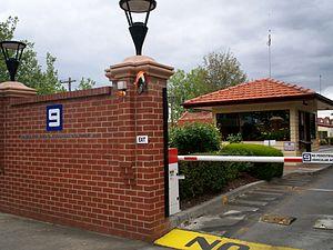 GTV (Australia) - GTV former front gate