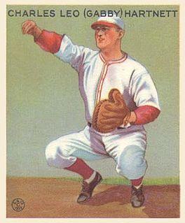 Gabby Hartnett American baseball player and manager