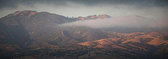 Gabilan Range - Gabilan Range panorama.