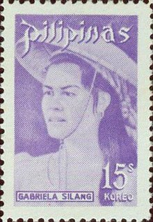 Gabriela Silang 1974 stamp of the Philippines.jpg