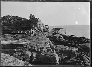 Broome, Western Australia - Gantheaume Point, circa 1910.