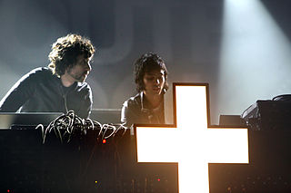 Justice (band) French electronic music duo