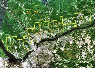 Neighbourhoods of Gatineau