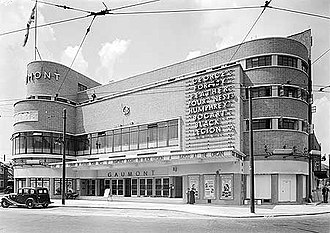 William Edward Trent - The Gaumont Finchley, seen in 1937.