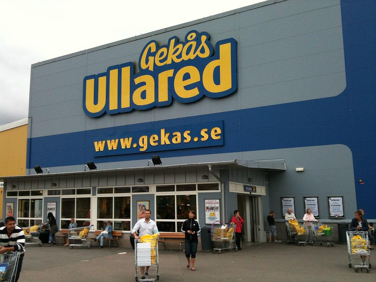 gekas ullared sweden