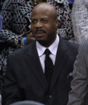 Gene Banks - Banks as an assistant coach with the Washington Wizards in 2012